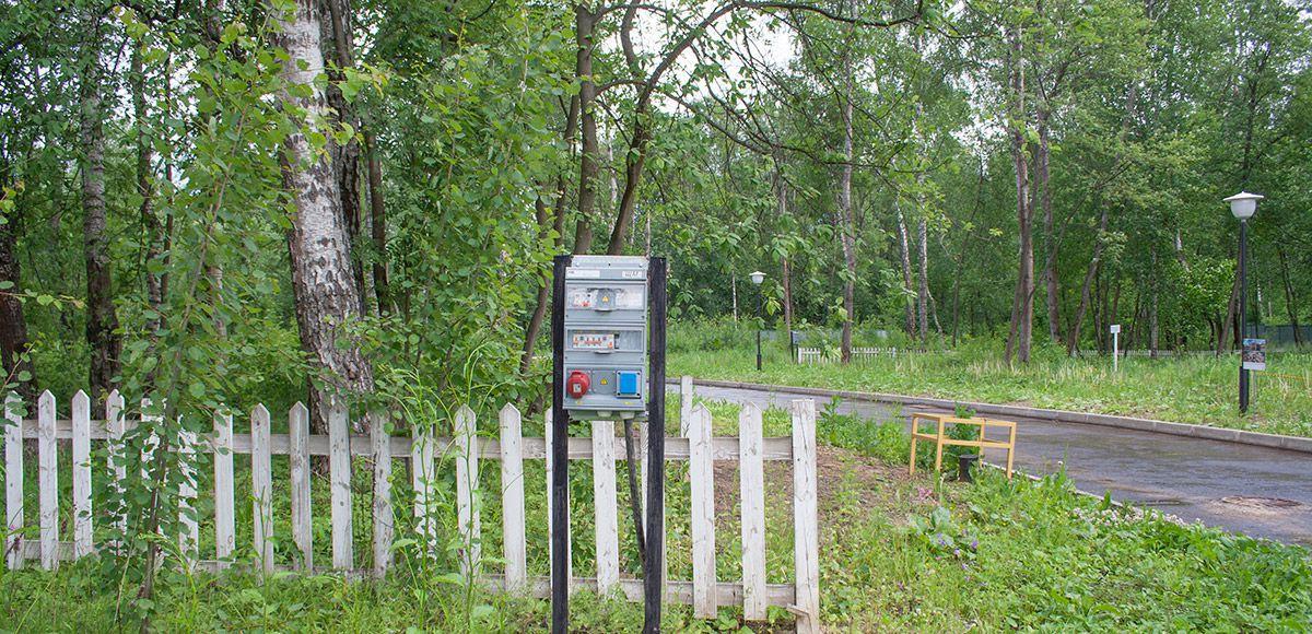 Ввод электричества, поселок Малое Сареево