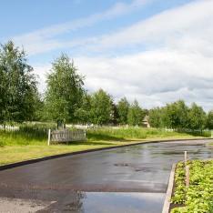 Асфальтированные дороги в поселке Малое Сареево